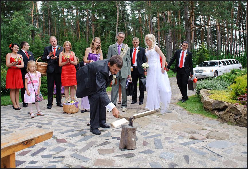 Las bodas lituanas son acerca de las tradiciones