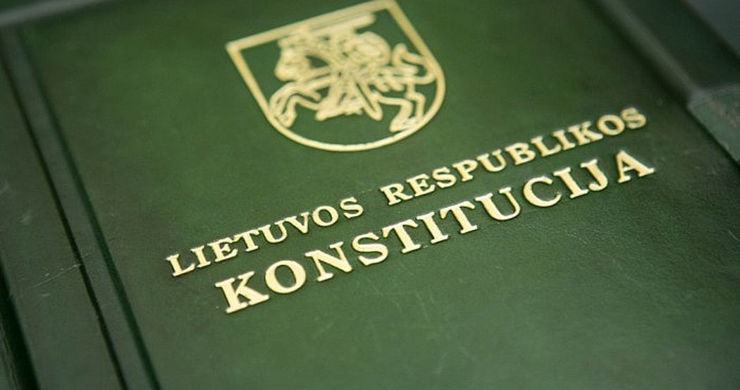 lithuan constitution